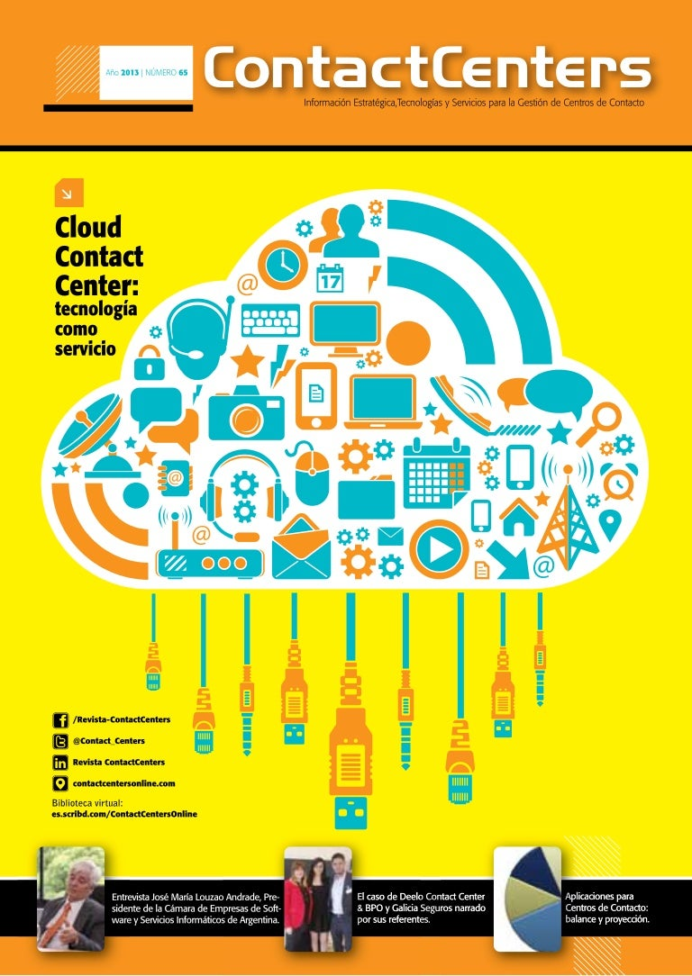 Cloud Contact Center: tecnología como servicio. Revista Contact Cente…