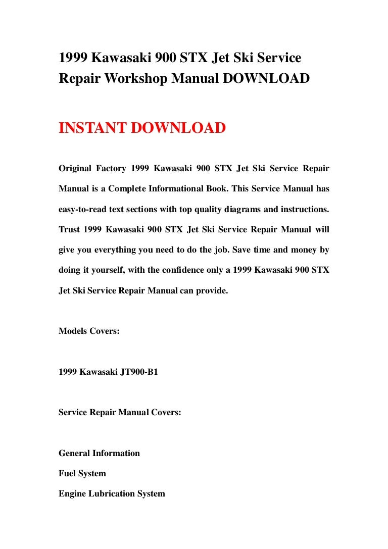 2003 kawasaki jetski 800 sx-r factory service repair manual downloa.