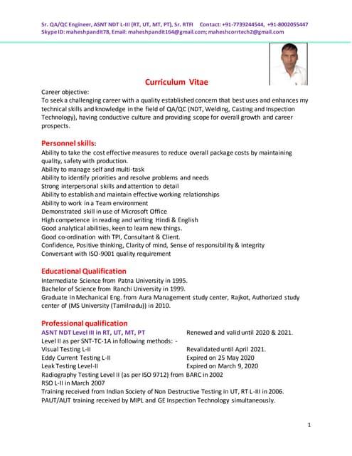 MAHESH CV updated on 13 10 16