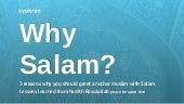 3 reasons why you should greet another muslim with Salam.