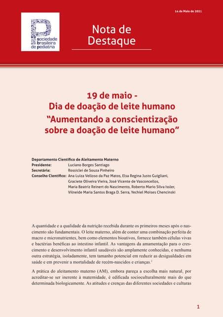 Leite humano: doação salva vidas e tem dia internacional de celebração