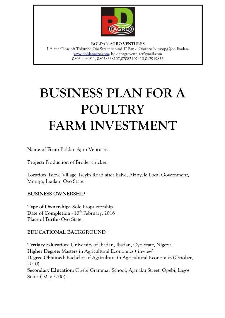 nursery school business plan pdf