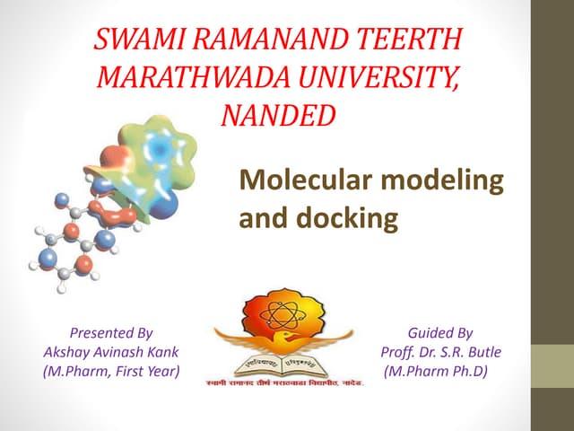 Quantum Mechanics in Molecular modeling