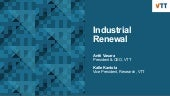 Antti Vasara and Kalle_Kantola_VTT_Growth Lab on Industrial Renewal_2.4.2019