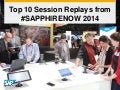 Top 10 Session Replays from #SAPPHIRENOW 2014