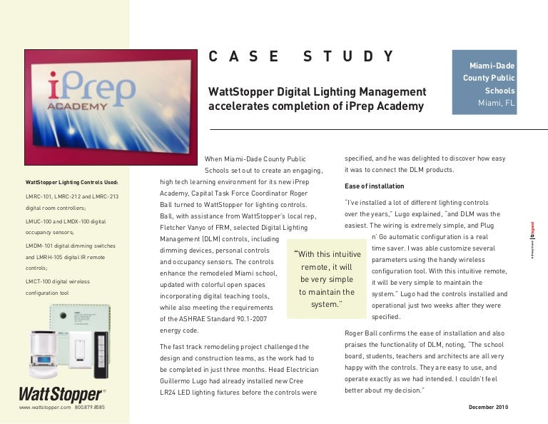 WattStopper-DLM-accelerates-completion-of-iPrep-Academy-Case-Study Wattstopper Lmsw Wiring Diagram on