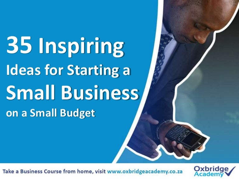 35 inspiring small business ideas to start on a small budget