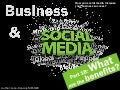 Business & Social media : What are the benefits ?