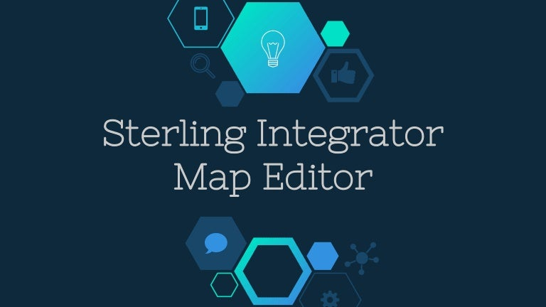 Sterling Integrator Map Editor on