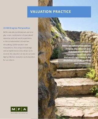 Valuation Practice