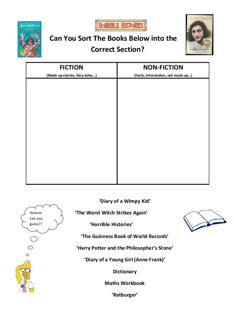 Worksheets Diary Of Anne Frank Worksheets class visit worksheet fiction vs non fiction