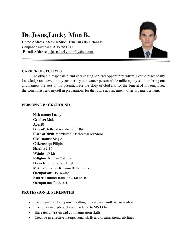 How To Make Resume For Freshers Civil Engineers