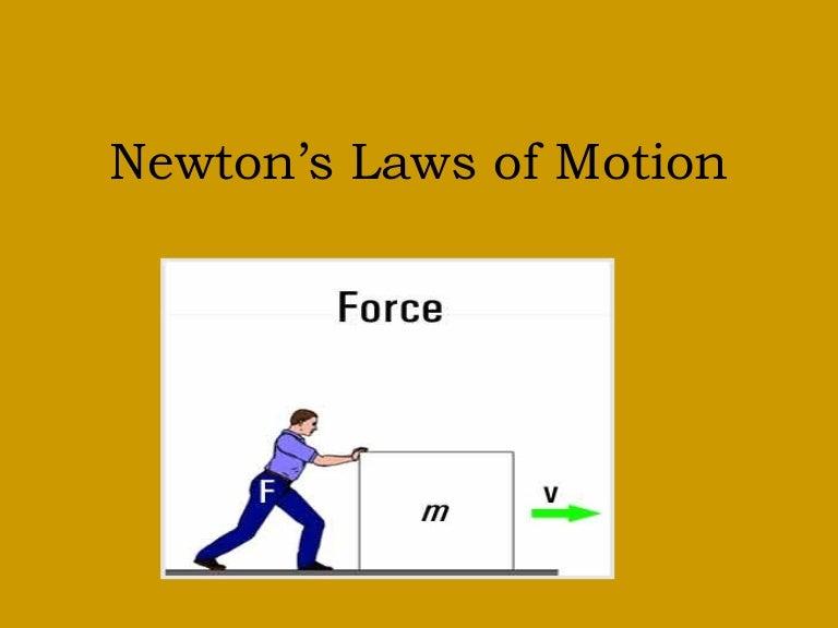 Newton S Kids Definition