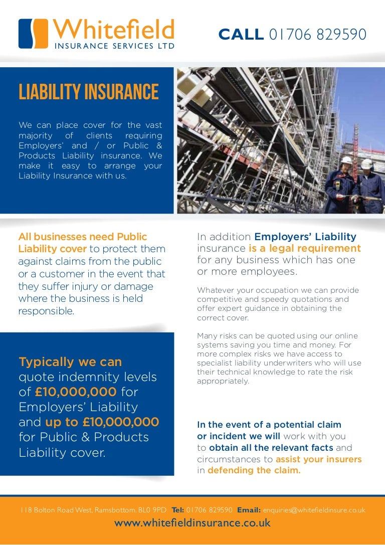 Liability insurance. Arrange everything on the shelves 60