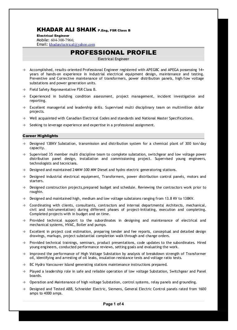 Senior Electrical Engineer Resume 2016 Of A Low Voltage Lighting System Explained By An Ontario Electrician
