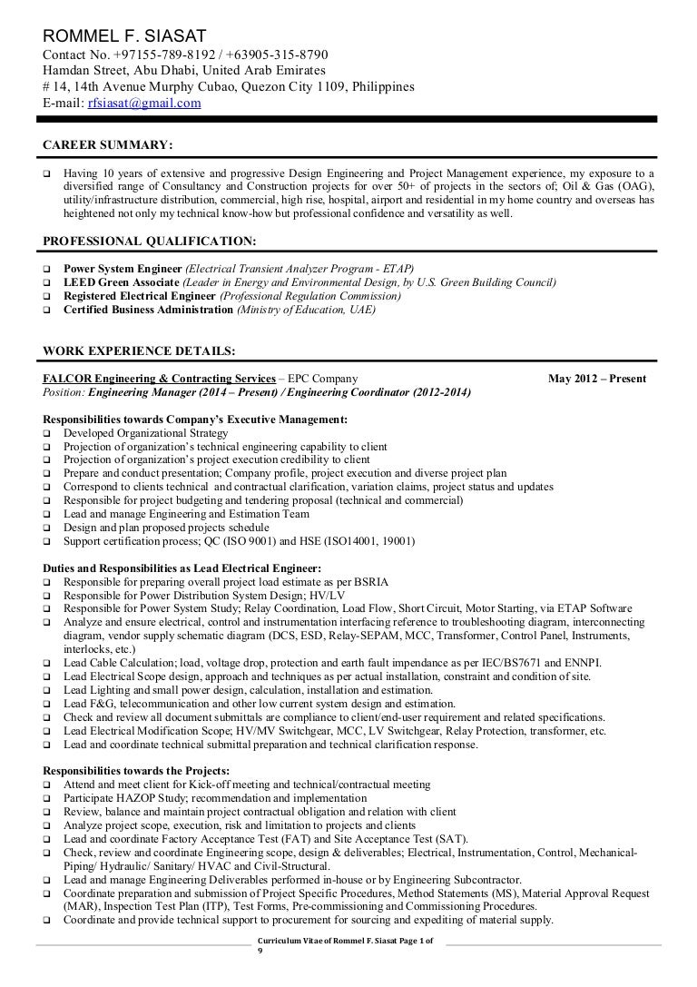engineering management resume april onthemarch co