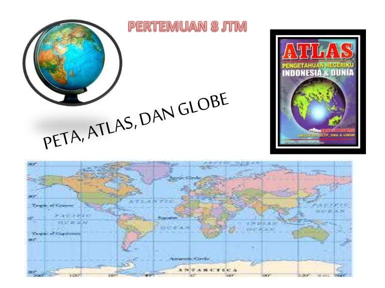 1 Genap Peta Atlas Dan Globe