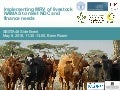 Improving transparency: Implementing MRV of livestock NAMAS to meet NDC and finance needs