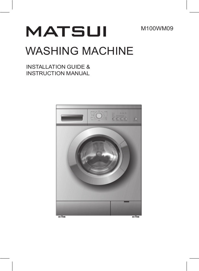 Washing Machine Drain Hose Additionally Wiring Diagram 1 Instruction Manual M100wm09 Ib 090922 2