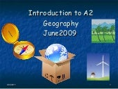 1 introductiontoa2geography