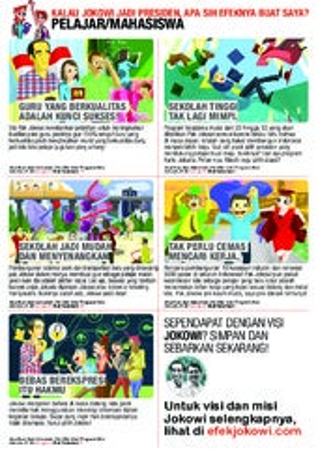 Materi Kampanye Jokowi JK untuk pelajar mahasiswa