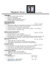 SlideShare  Phlebotomy Cover Letter