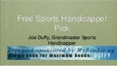 #1 ranked baseball handicapper and top sports service 2018