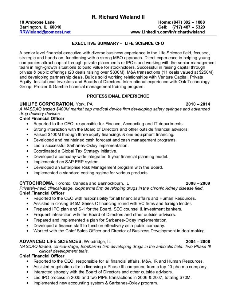 1 resume 2014 - Resume For Life Science Student
