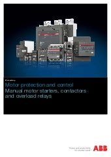 ABB  MS450 1SAM450000R1005 Manual Motor Starter 40A Max Trip