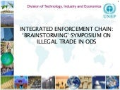 Objectives of the Brainstorming Symposium on ODS illegal trade
