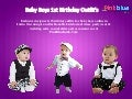 Cute 1st Birthday Outfit‎s for Baby Boys