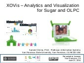 XOVis - Analytics and Visualization for Sugar and OLPC