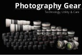 2. DSLR Photography 101 -Gear