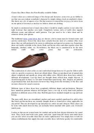 men's dress casual shoes
