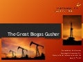The Great Biogas Gusher