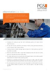 eExamination Case Study By PGS Software Ltd