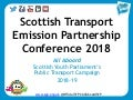 STEP Annual Conference 2018 - Jack Dudgeon, SYP is All Aboard for Sustainable Transport