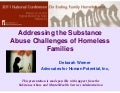 2.7: Addressing the Substance Abuse Challenges of Homeless Families
