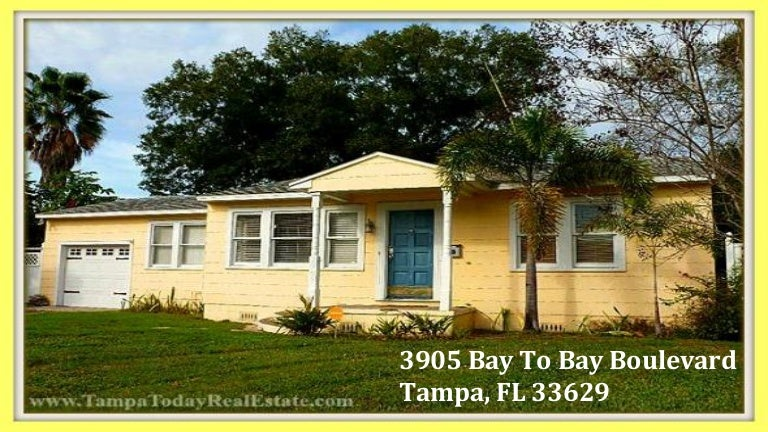 Virginia Park 2 Bedroom Home For Sale In Tampa Fl 3905 Bay To Bay