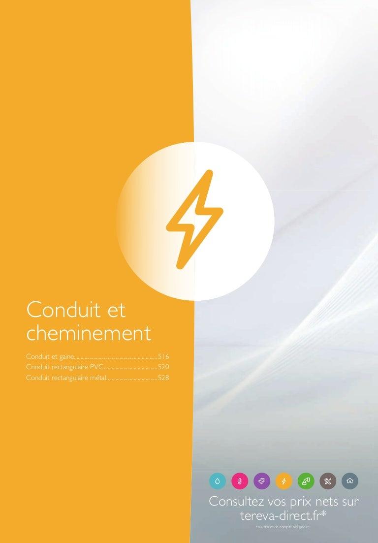 Gaine Electrique Exterieur Apparente catalogue général 2017 - conduit et cheminement