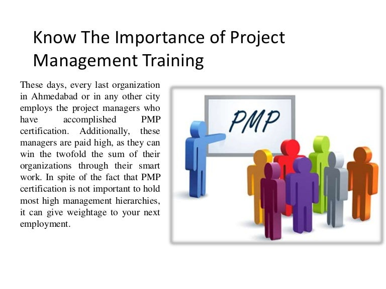 Know The Importance Of Project Management Training