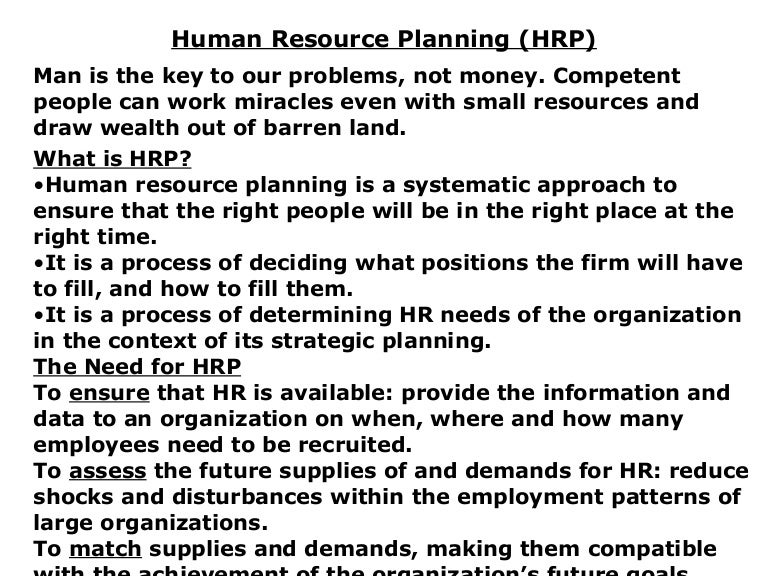 2. Hr Planning ,Recruitment&Selection