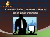 2. know thy solar customer   how to build buyer personas
