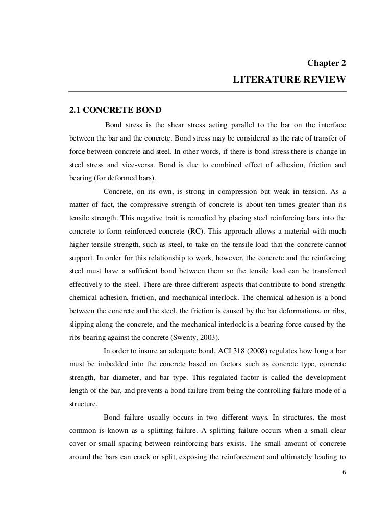 Thesis statement for review of literature Master thesis literature study