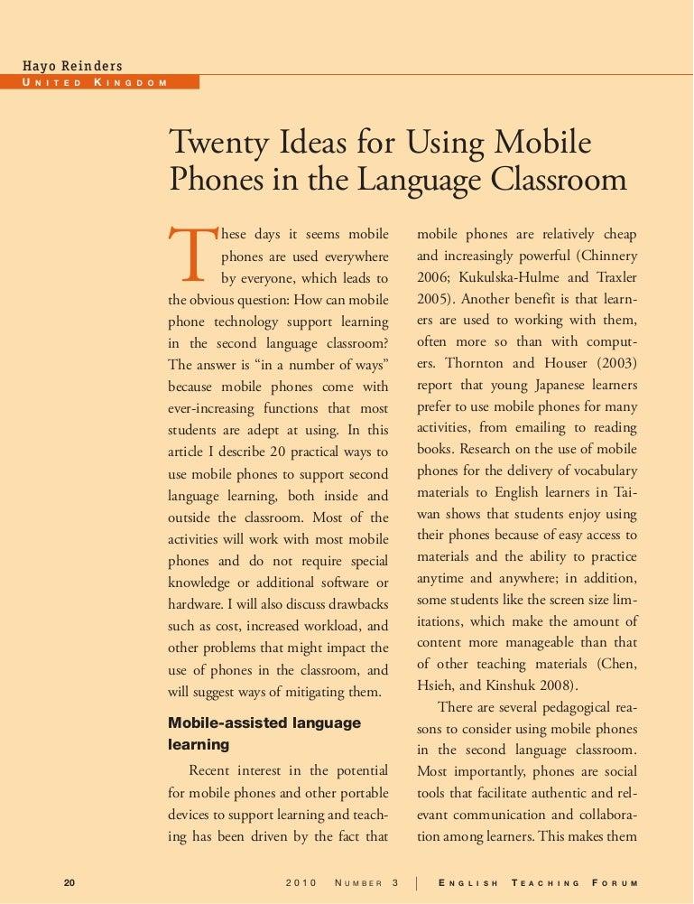 argumentative essay cell phones in school - Yelom.digitalsite.co