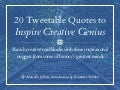 20 Tweetable Quotes to Inspire Marketing & Design Creative Genius