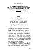 Interdisciplinaridade, Segurança pública e Serviço Social