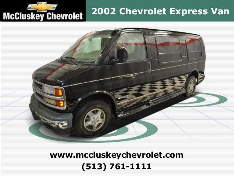 Used 2002 Chevrolet Express Conversion Van