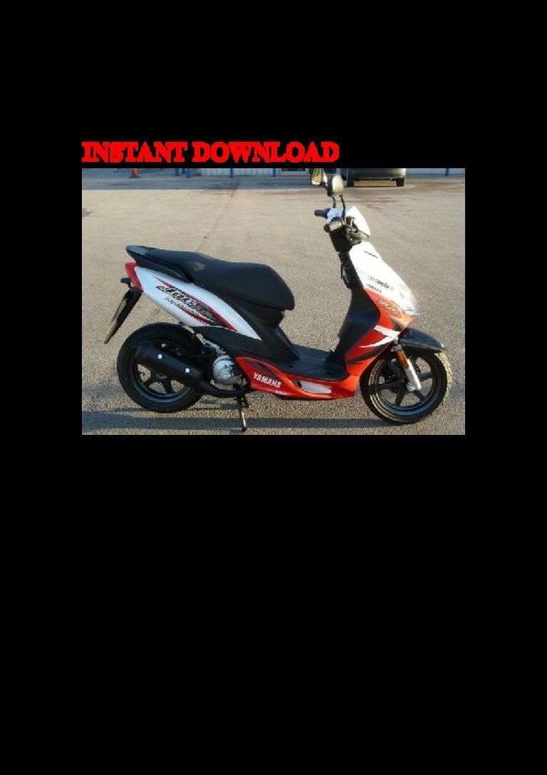 2002 Yamaha Cs50 Z Service Repair Factory Manual Instant Download Wiring Diagrams 2003 Zuma Moped