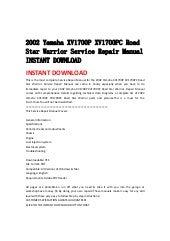 Yamaha Ss 110 Service Manual >> 2002 yamaha yp250(p) service repair manual instant download (german)